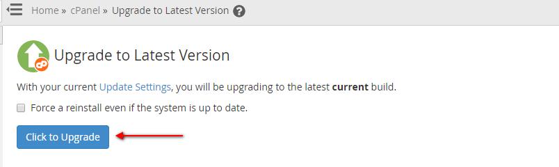 whm upgrade 2